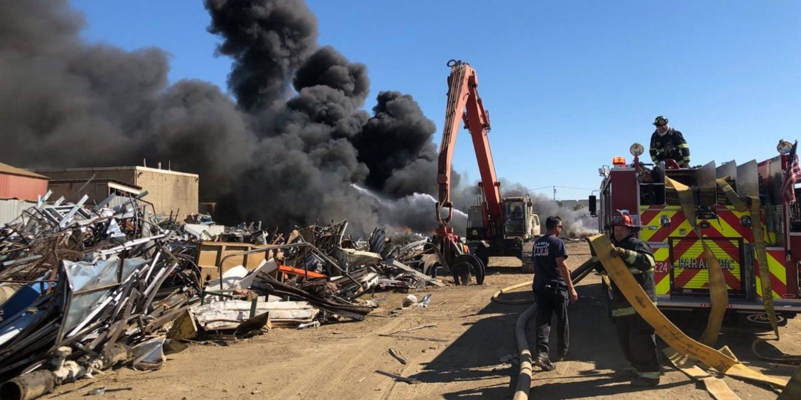 San Leandro Nissan >> Tesla vehicle was found in a junkyard fire, cause unknown