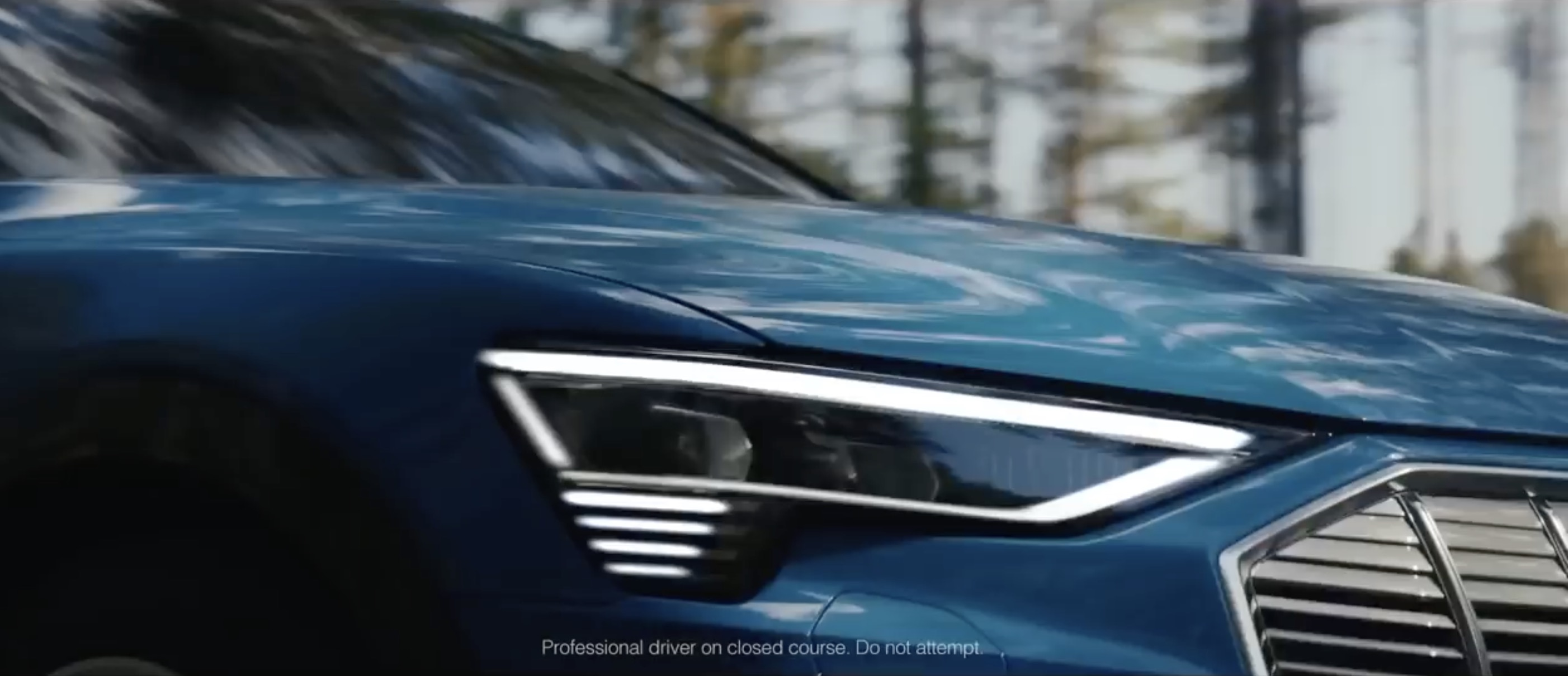 Audi already advertising e-tron electric SUV ahead of the launch event