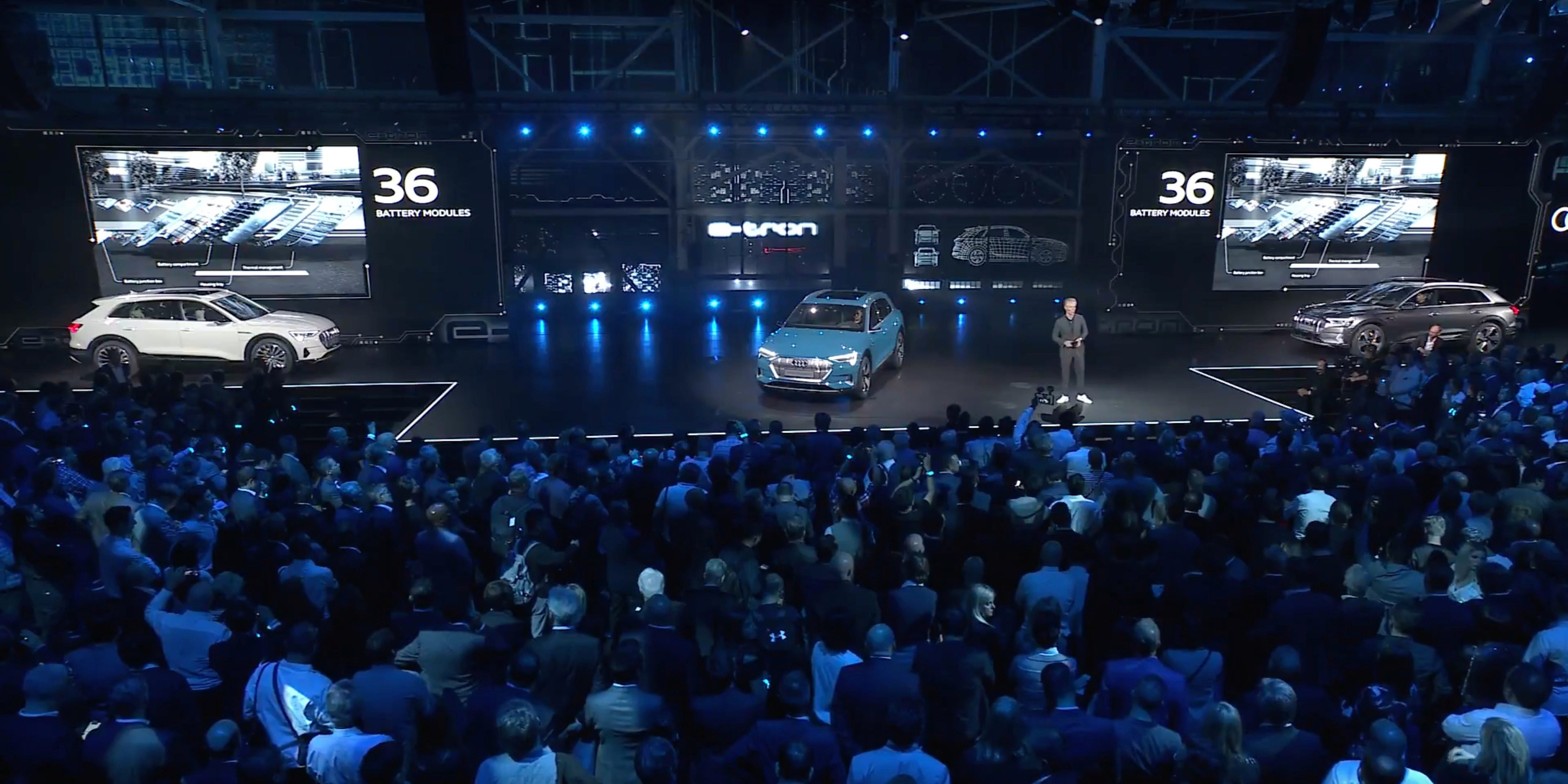 Audi launches e-tron electric SUV with $8,8 starting ... | audi new car launch