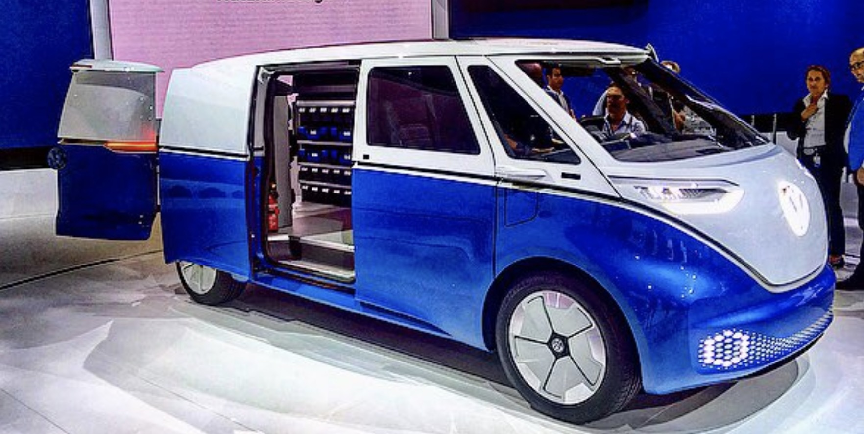 VW unveils a series of new commercial all electric vehicles