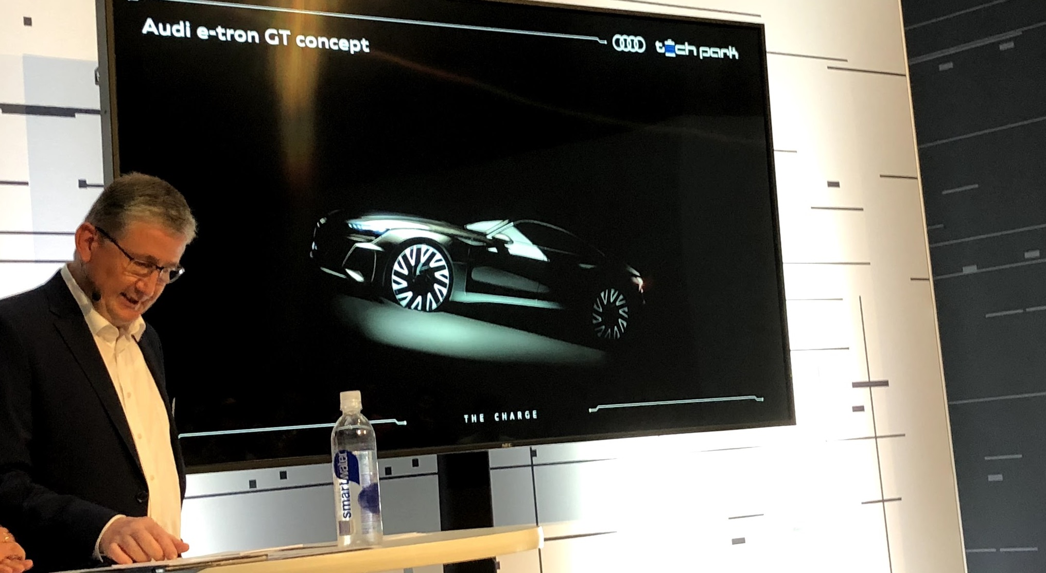 Audi S 2020 Electric Sport E Tron Gt Is Going To Be Based On The