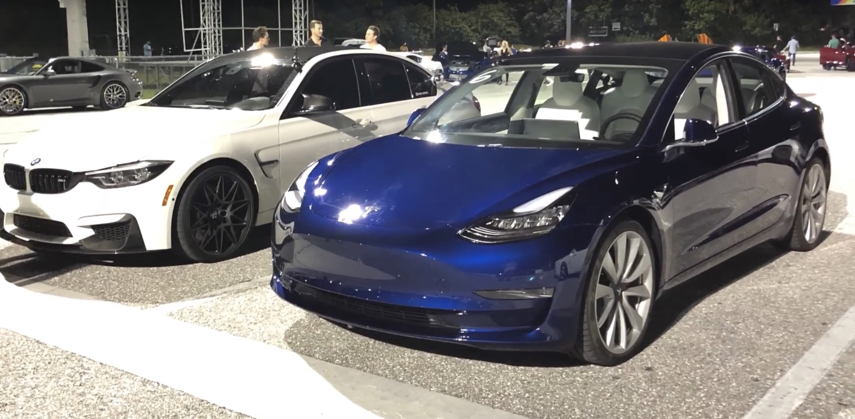 Tesla Model 3 Performance Takes On Bmw M3 Competition In