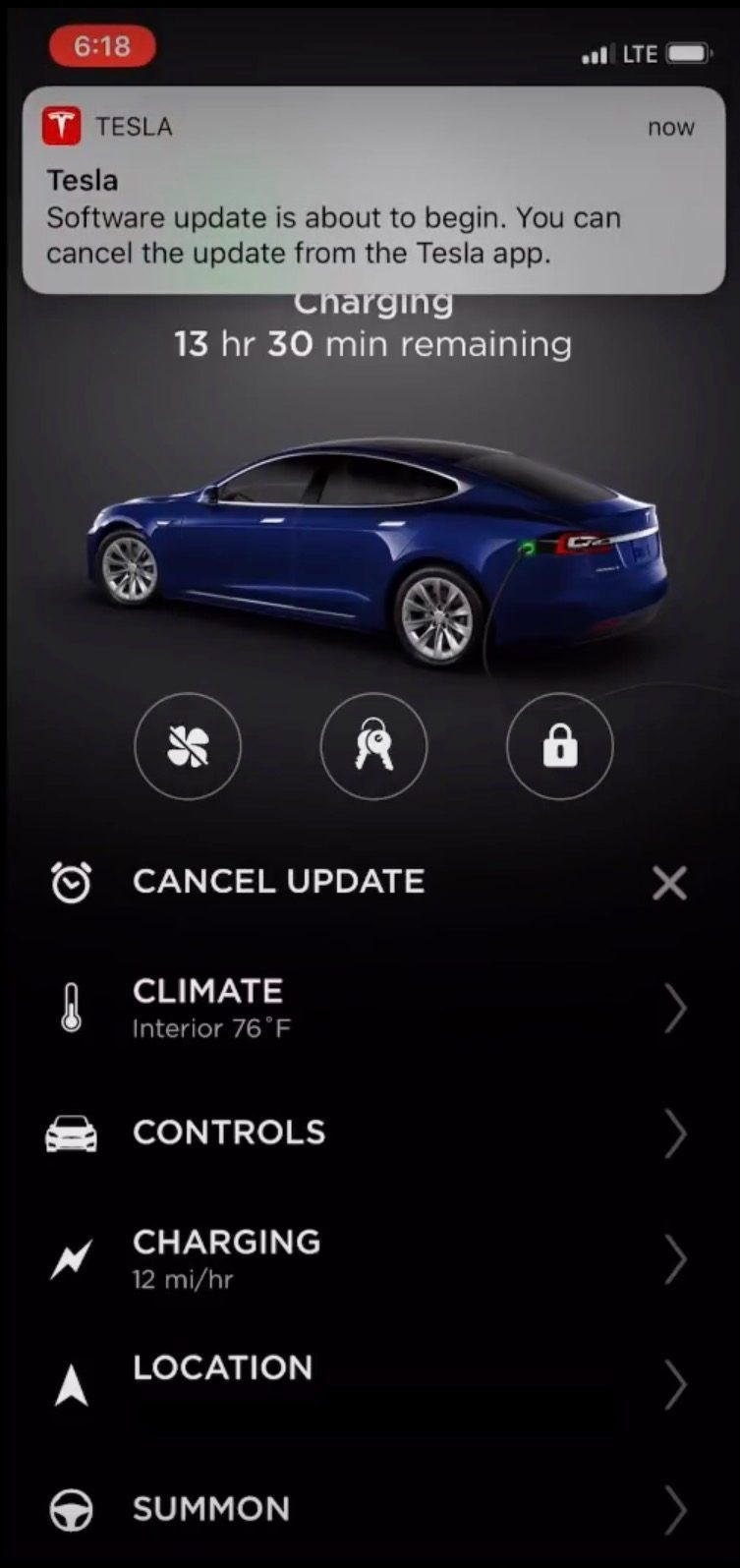 Tesla's new mobile app update lets you get more control over
