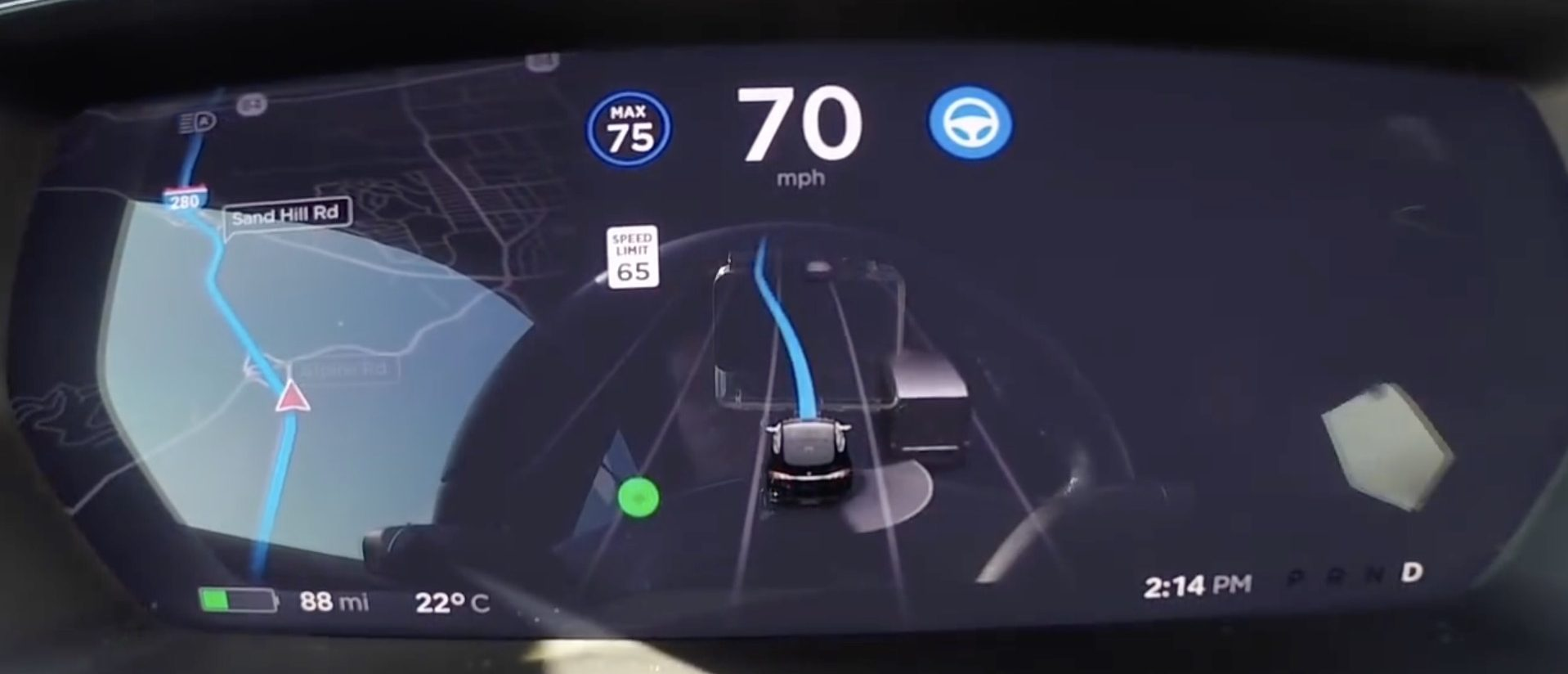 Tesla starts rolling out new Navigate on Autopilot and Enhanced Summon features