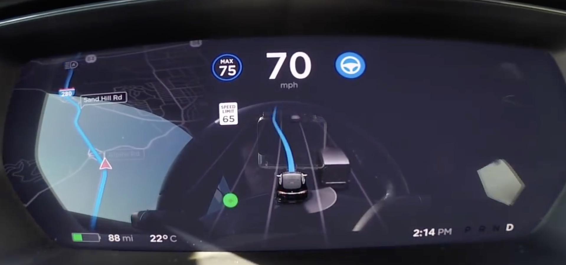 Tesla Update >> Tesla Starts Releasing Navigate On Autopilot Feature With