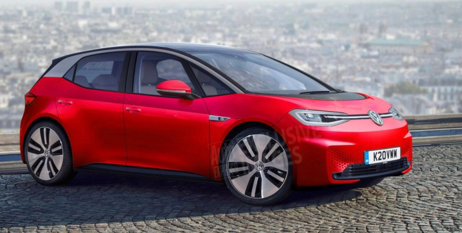 VW's 'affordable' Electric Car To Be Offered In 3 Battery