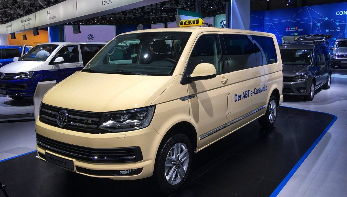Vw Unveils A Series Of New Commercial All Electric Vehicles I D