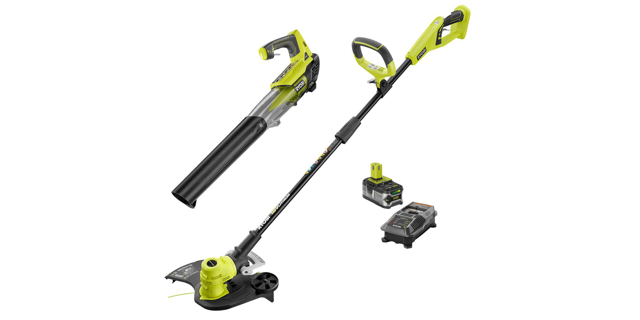Green Deals: Ryobi ONE+ 18V Electric String Trimmer and