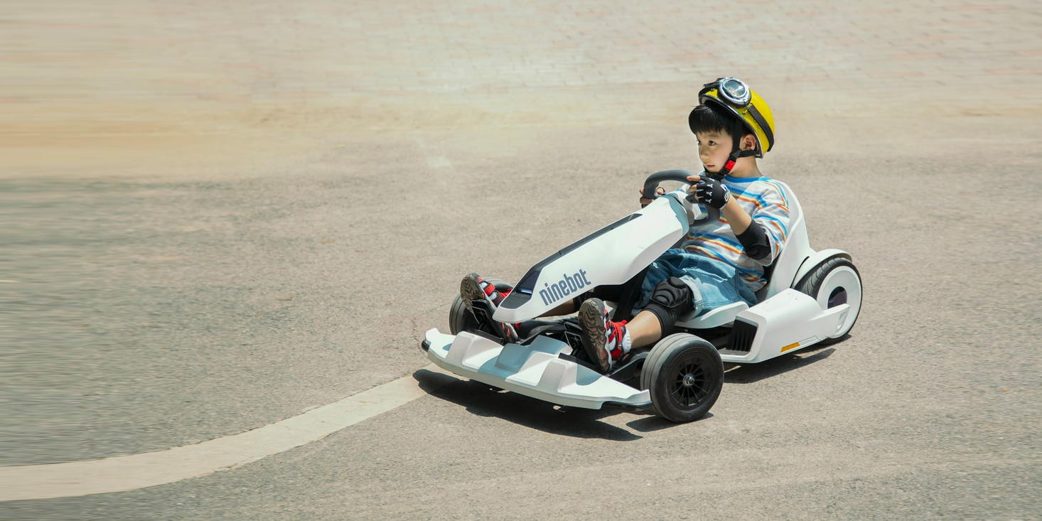 Make a Segway Ninebot gokart by adding this contraption to a Ninebot ...