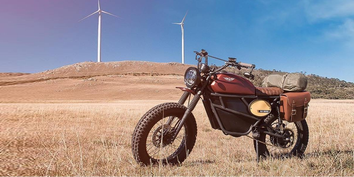 New US electric motorcycle company unveils new design with classic looks