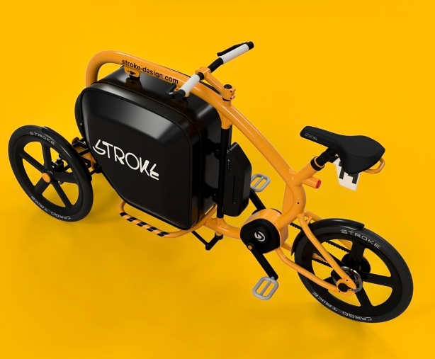 This Japanese tilting electric cargo tricycle is as cute as