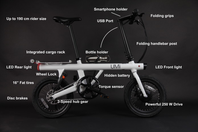This odd-looking electric bike is jam-packed full of features and just $799