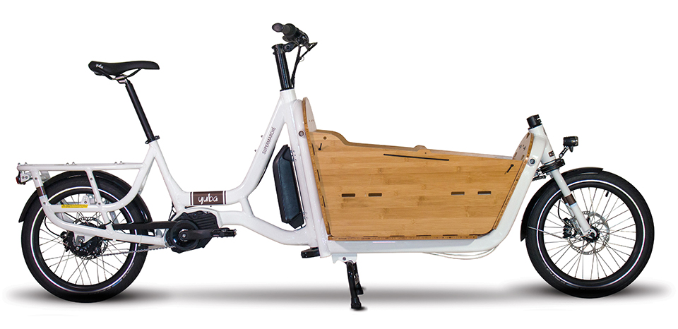 2fc838266f2 To retain a size closer to standard bicycles, some electric cargo bicycles  use frame that is stretched in the rear to provide a foot or cargo platform  on ...