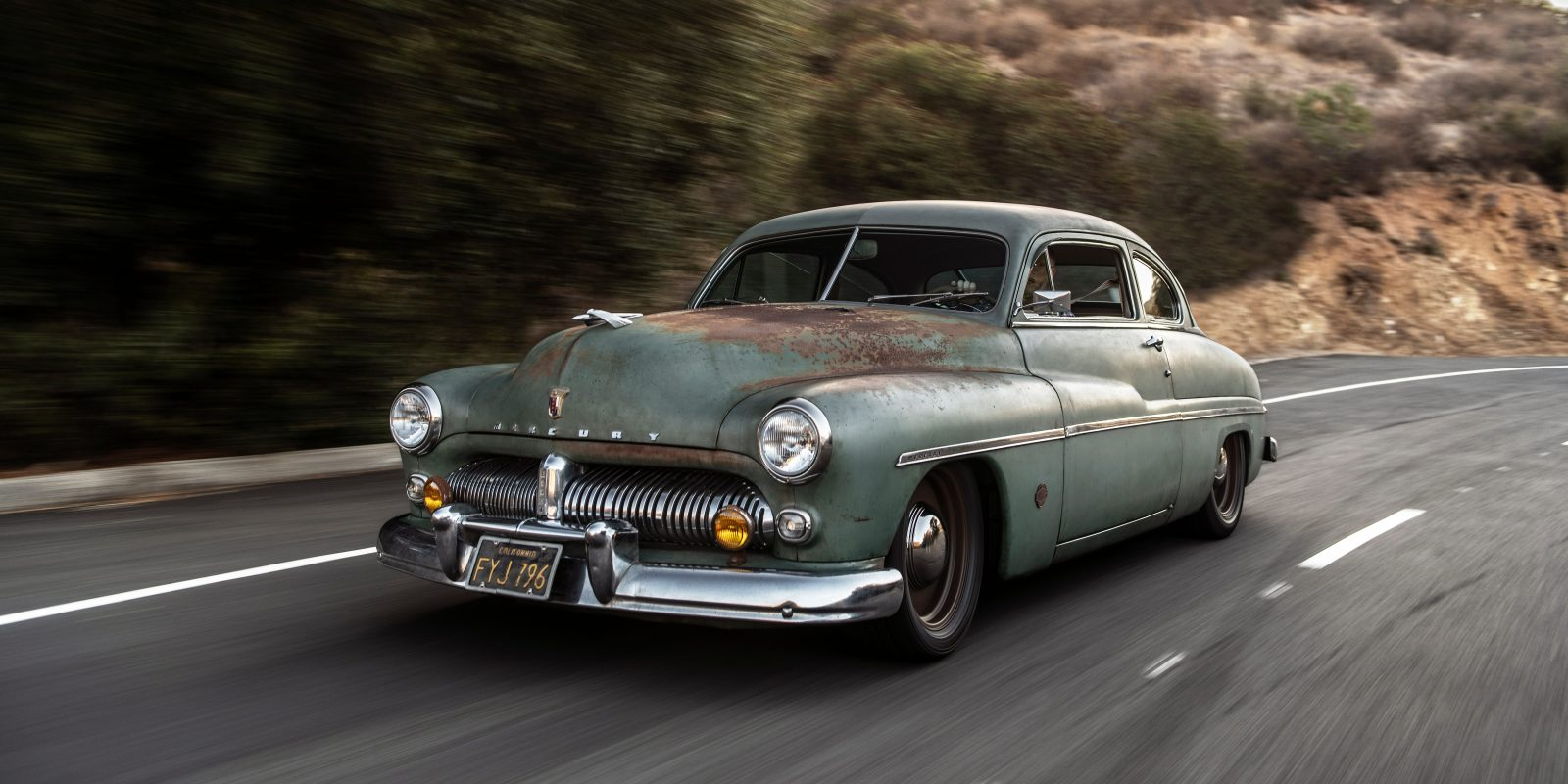 1949 Mercury Coupe Goes Electric With A Tesla Battery Pack