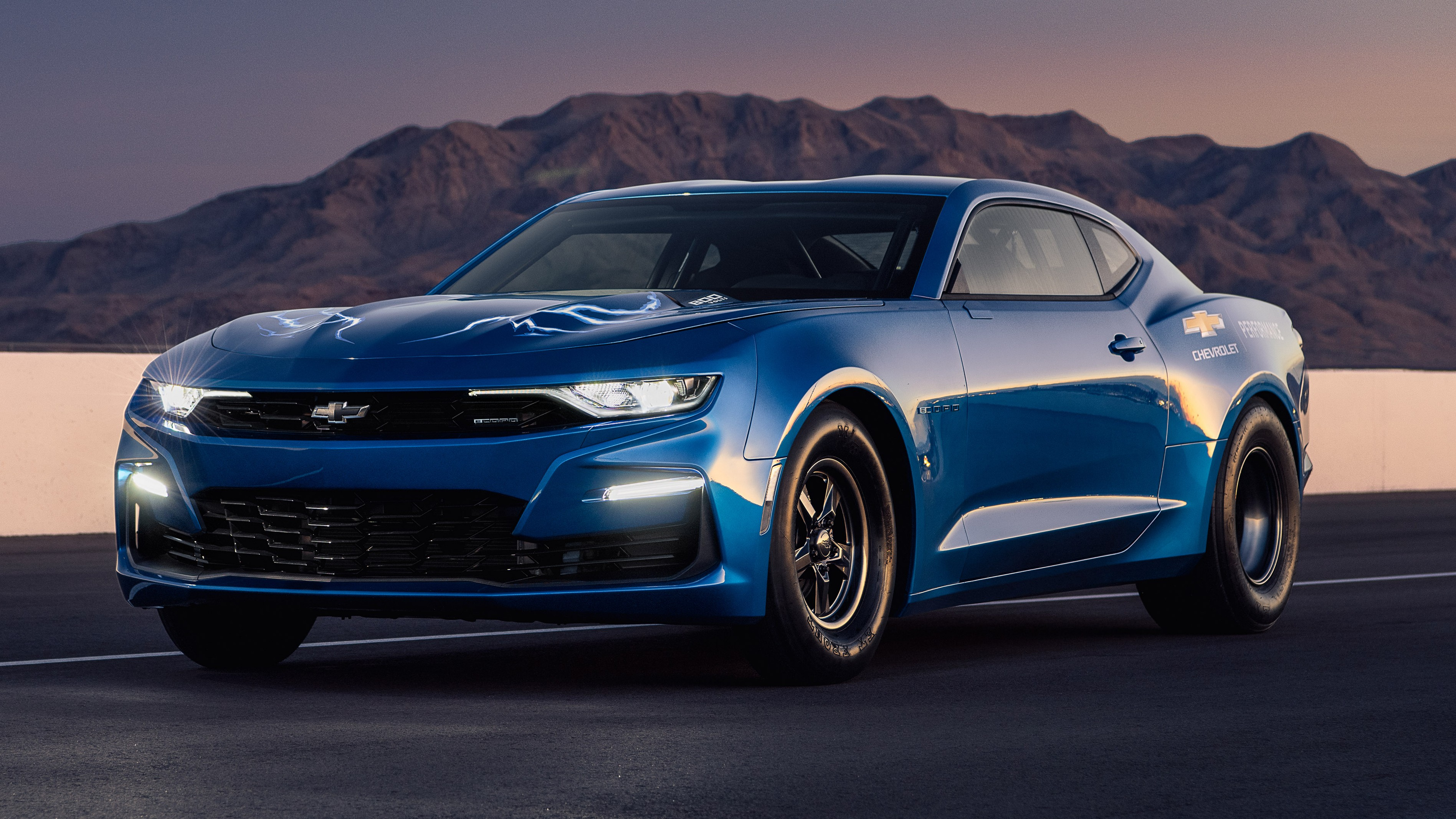 Chevy Shows Off A 800v Electric Ecopo Camaro Conversion Running A