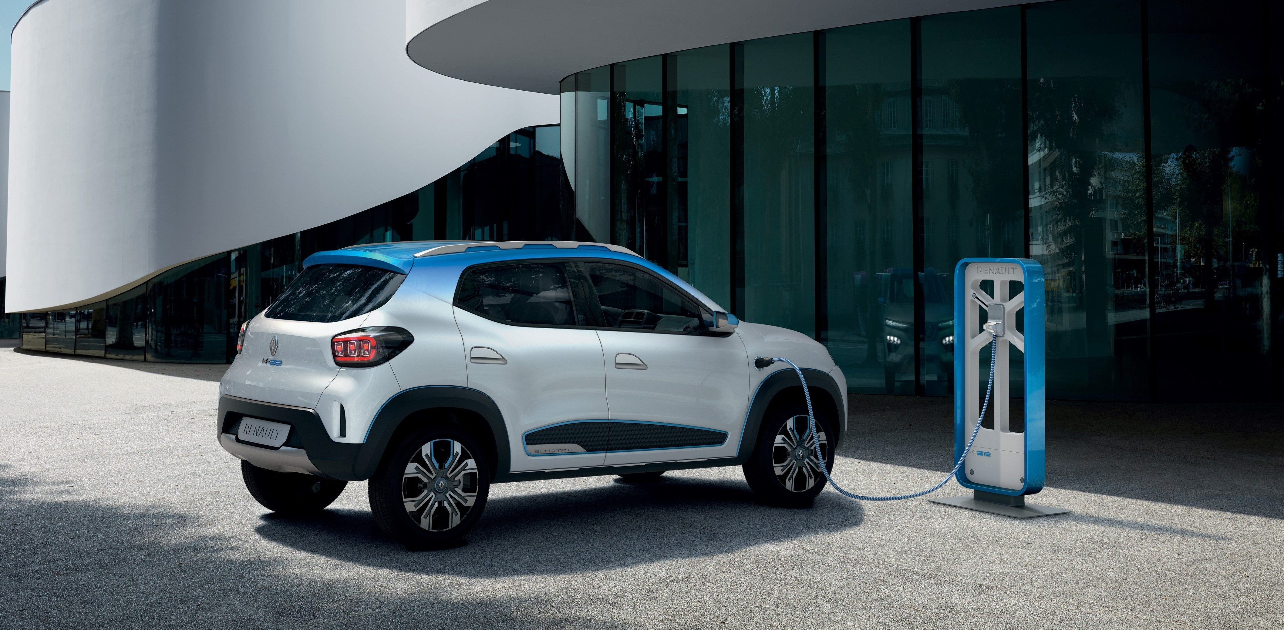 Renault Unveils New Affordable K Ze All Electric Crossover Electrek