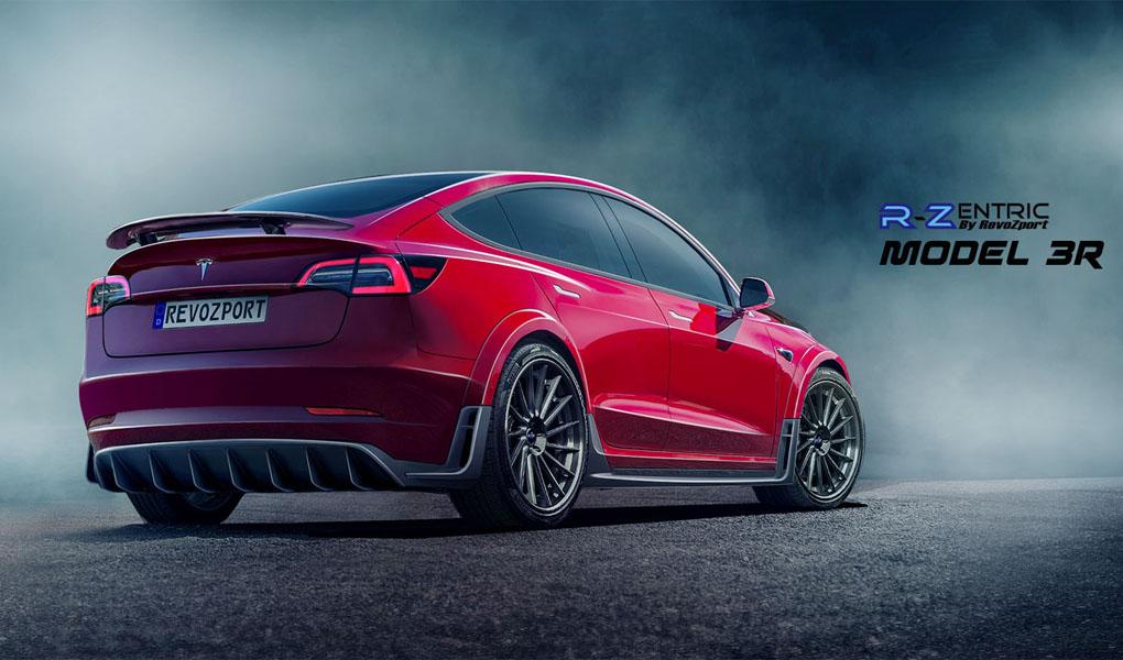 Tesla Model 3 gets agressive new look with aftermarket