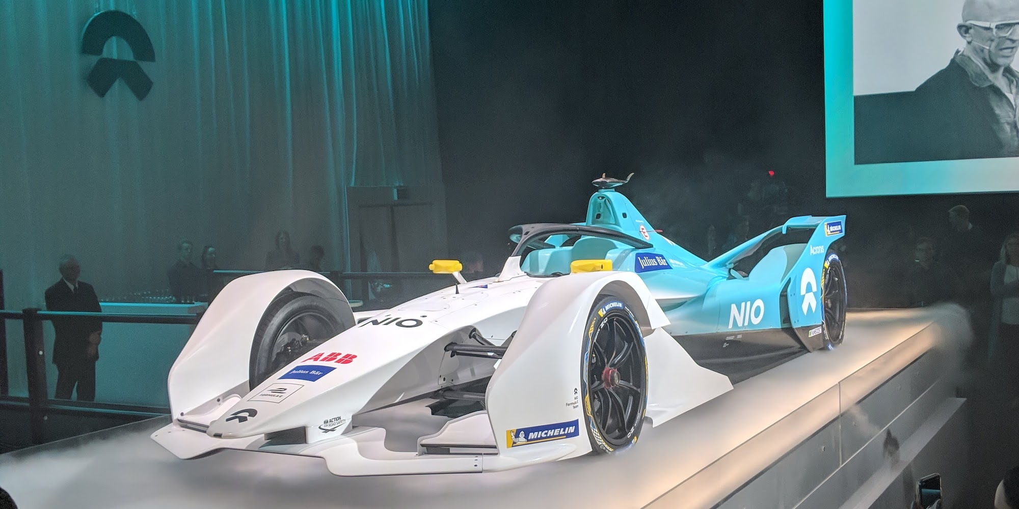 Nio unveils its 2019 Formula E racer as Tesla investor Baillie Gifford takes huge 11% stake