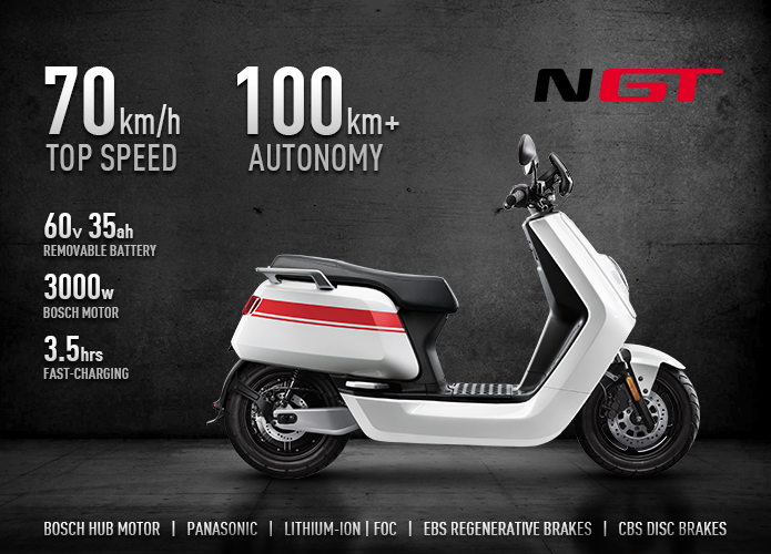 niu ngt scooter