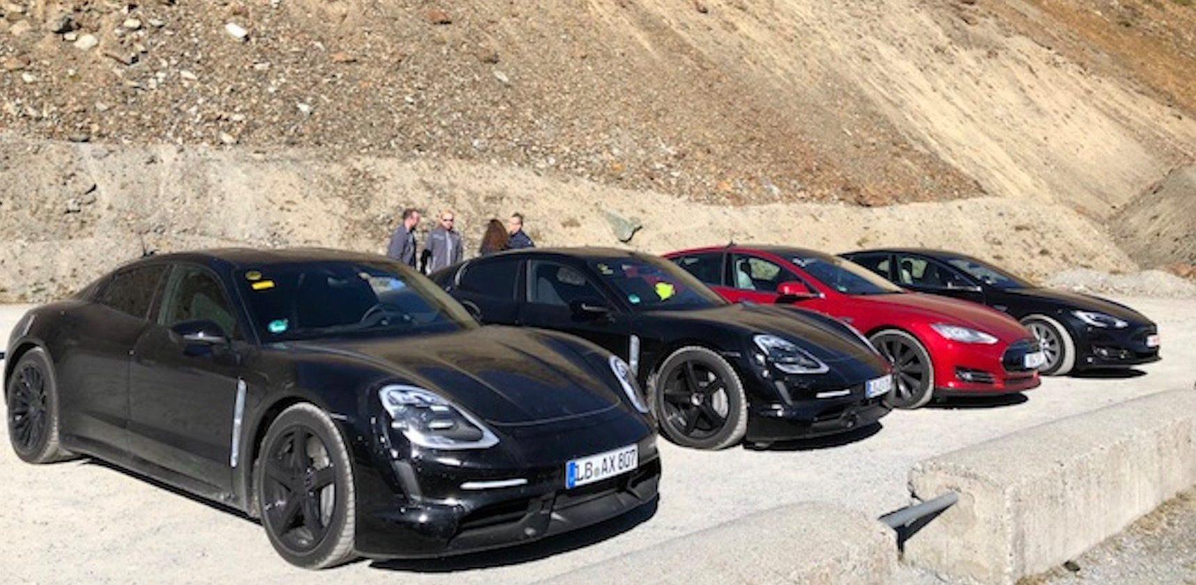 Porsche Taycan Electrek