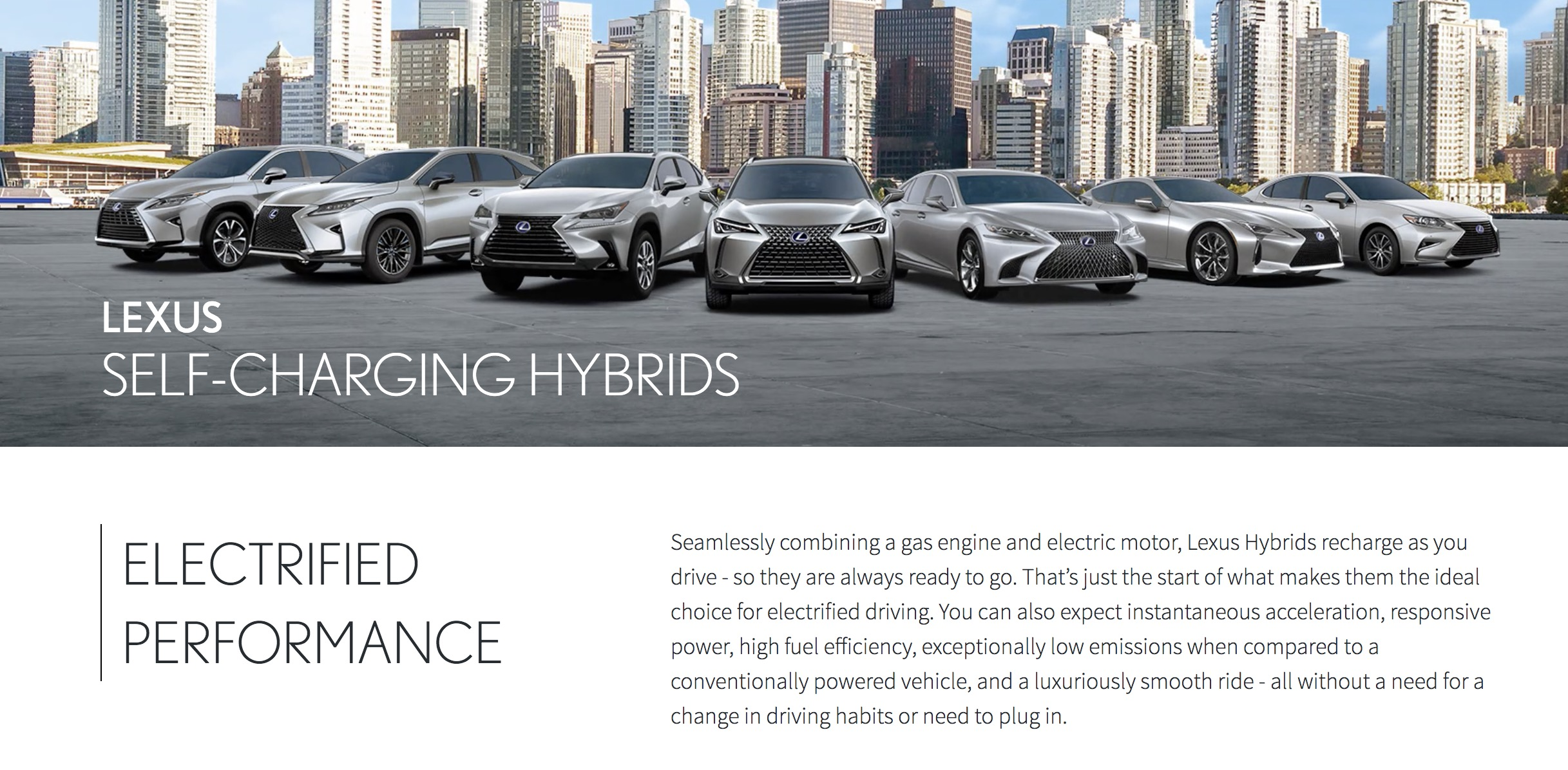 Lexus Trash Talks All Electric Vehicles In Shameful Hybrid Vehicle Advertising