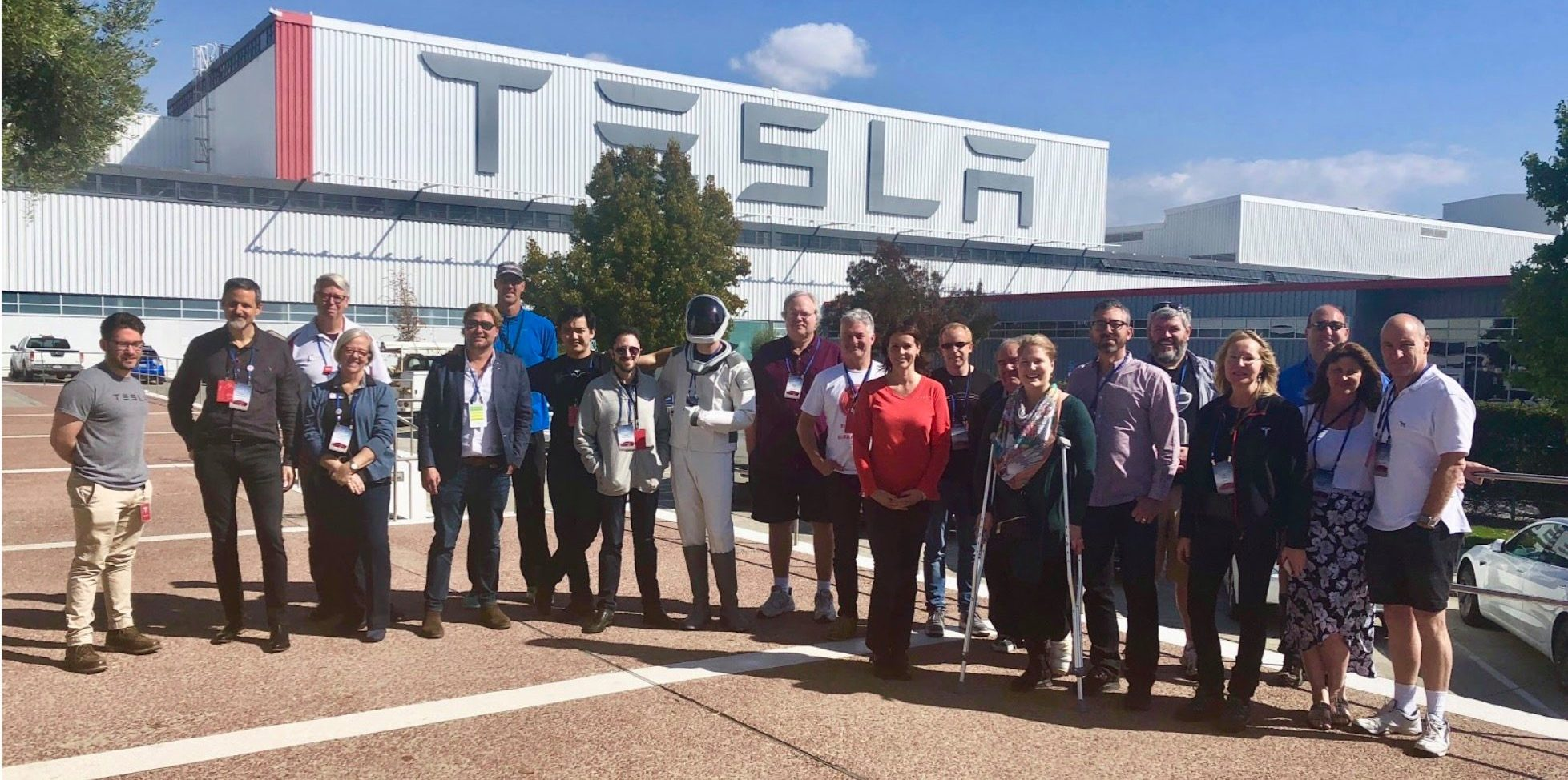 Tesla owners gathered at Club Leadership Summit for annual meeting