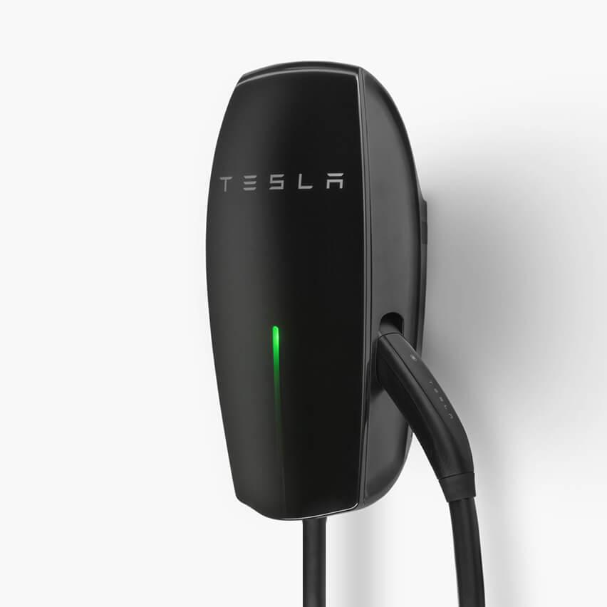 Tesla launches new Gloss Black Wall Connector - Electrek