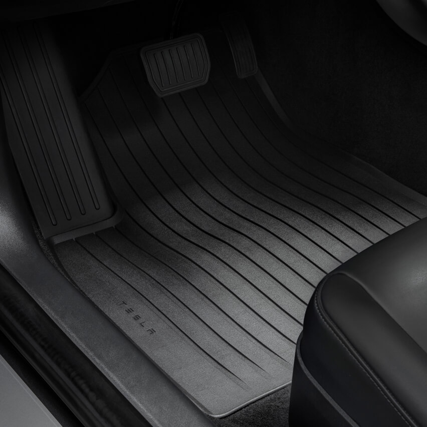 Tesla releases its own Model 3 all-weather Interior mats
