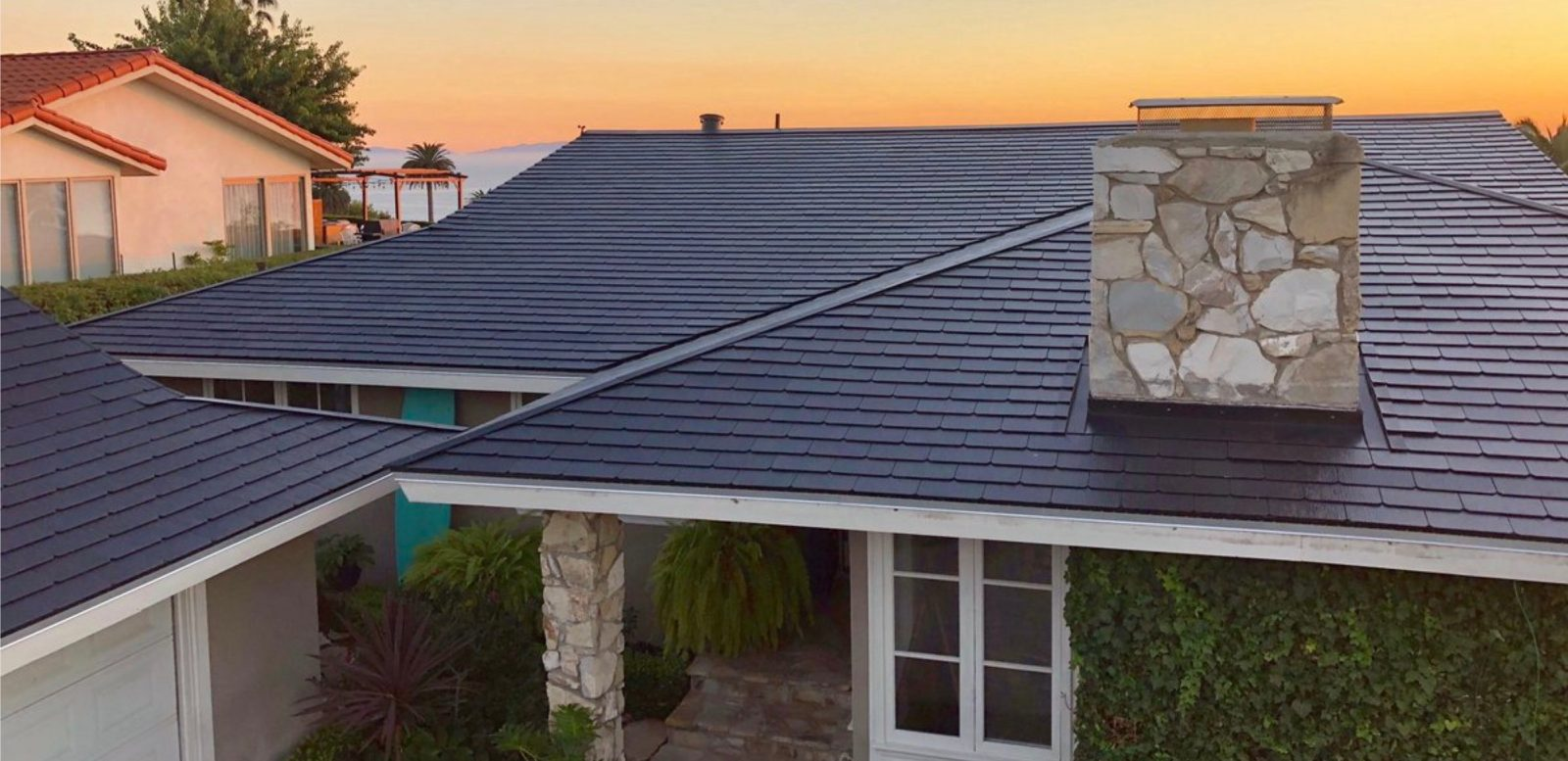 Tesla Solar Roof Shingles >> Tesla Solar Roof Volume Production Is Delayed To Next Year Electrek