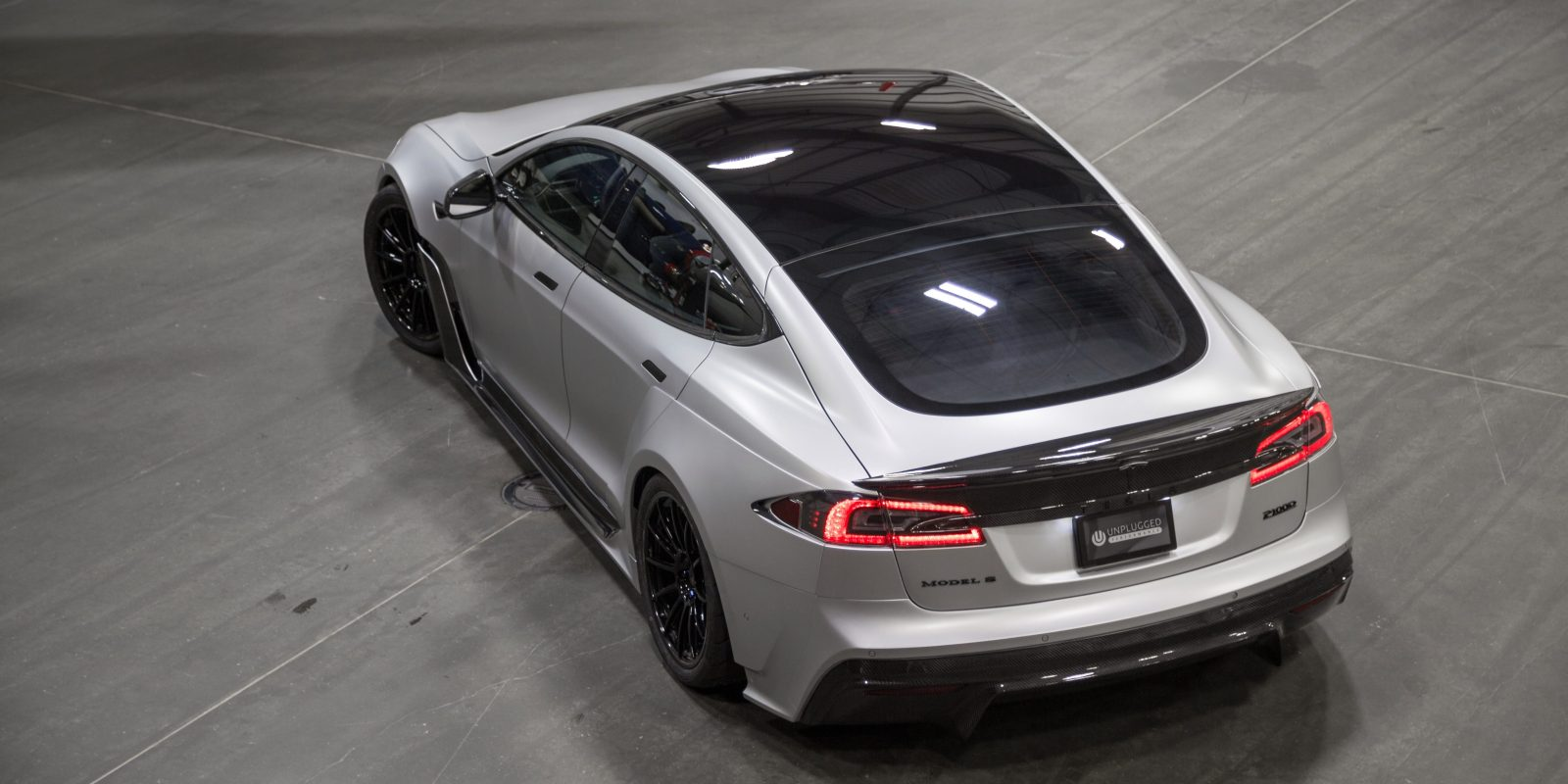 Unplugged Performance Unveils Stunning New Modified Tesla Model S P100d