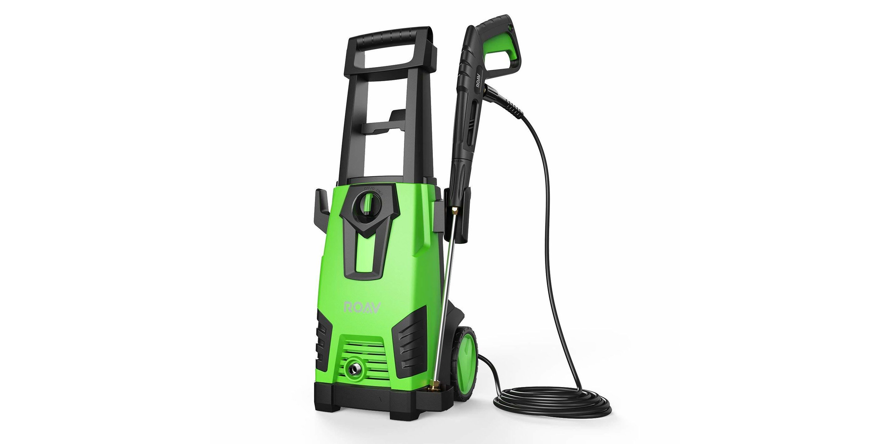 Anker's ROAV HydroClean Electric Pressure Washer is $120, plus deals on electric blowers and chainsaws