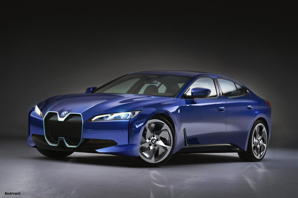 Bmw I4 To Be More Conventional Looking Upcoming Electric Car