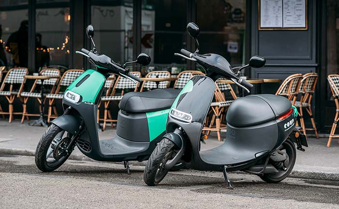 gogoro coup scooters