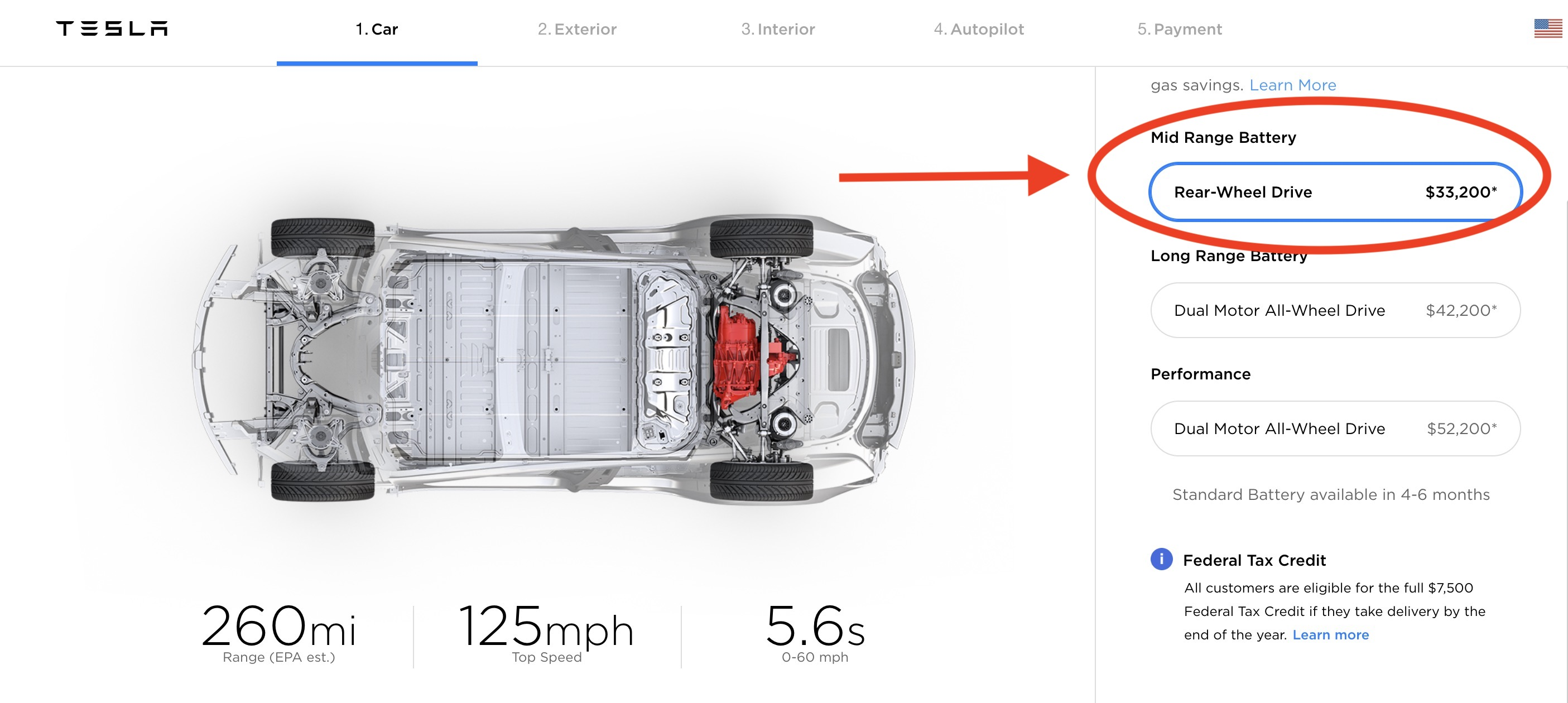 Tesla Launches New Model 3 With U0027mid Rangeu0027 Battery For $45,000, Changes Pricing  Structure