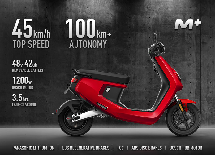 niu m+ scooter