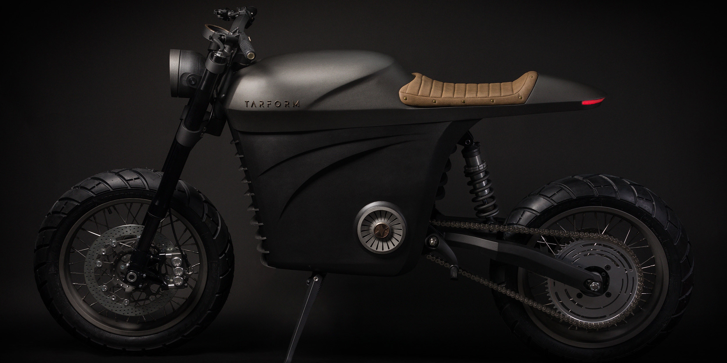 New US startup Tarform Motorcycles unveils their first electric motorcycle