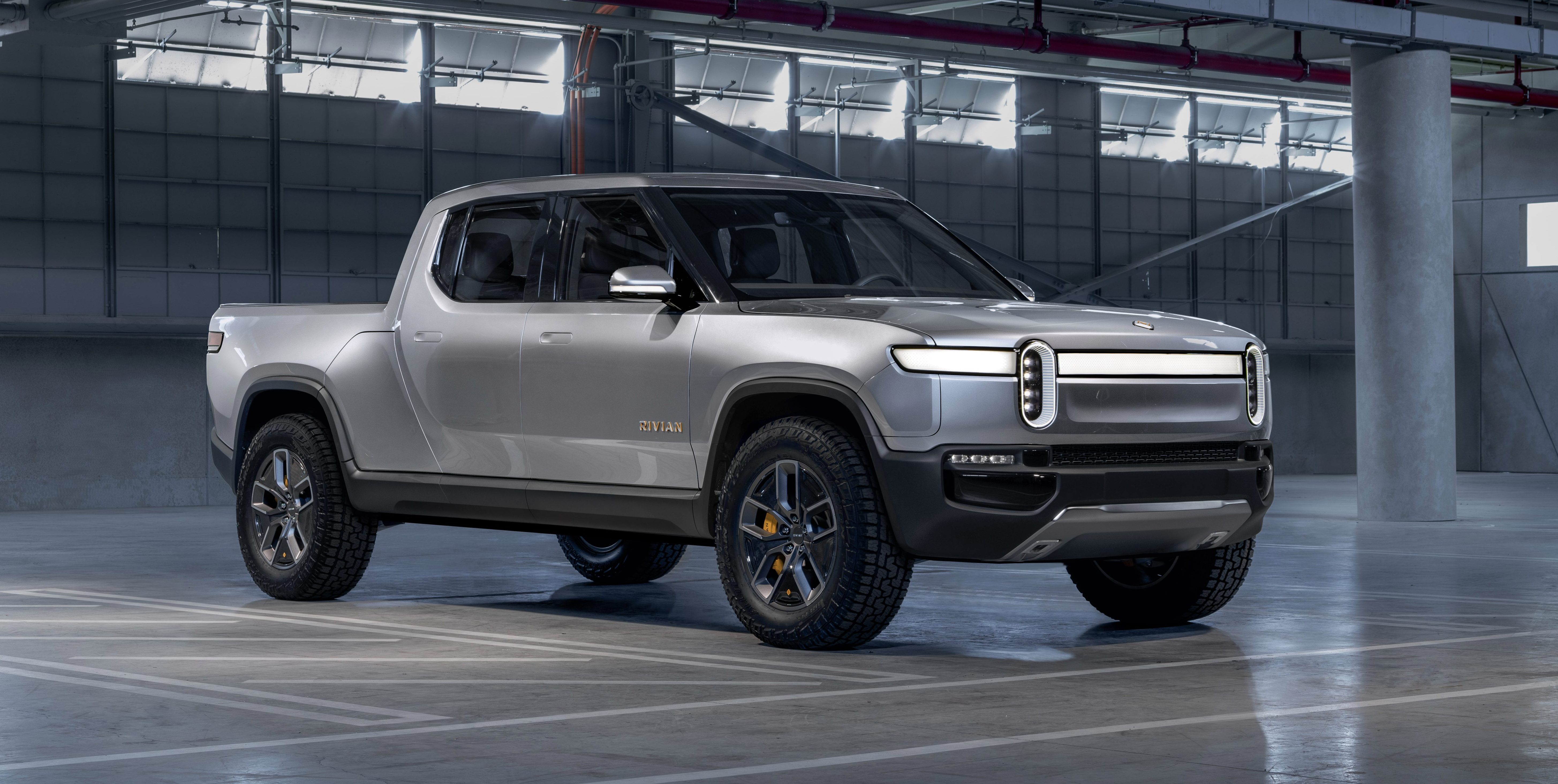 The Rivian R1t Will Be First Of Those Electric Vehicles To Make It Market And They Unveiled Today Ahead A Launch Event Later Tonight