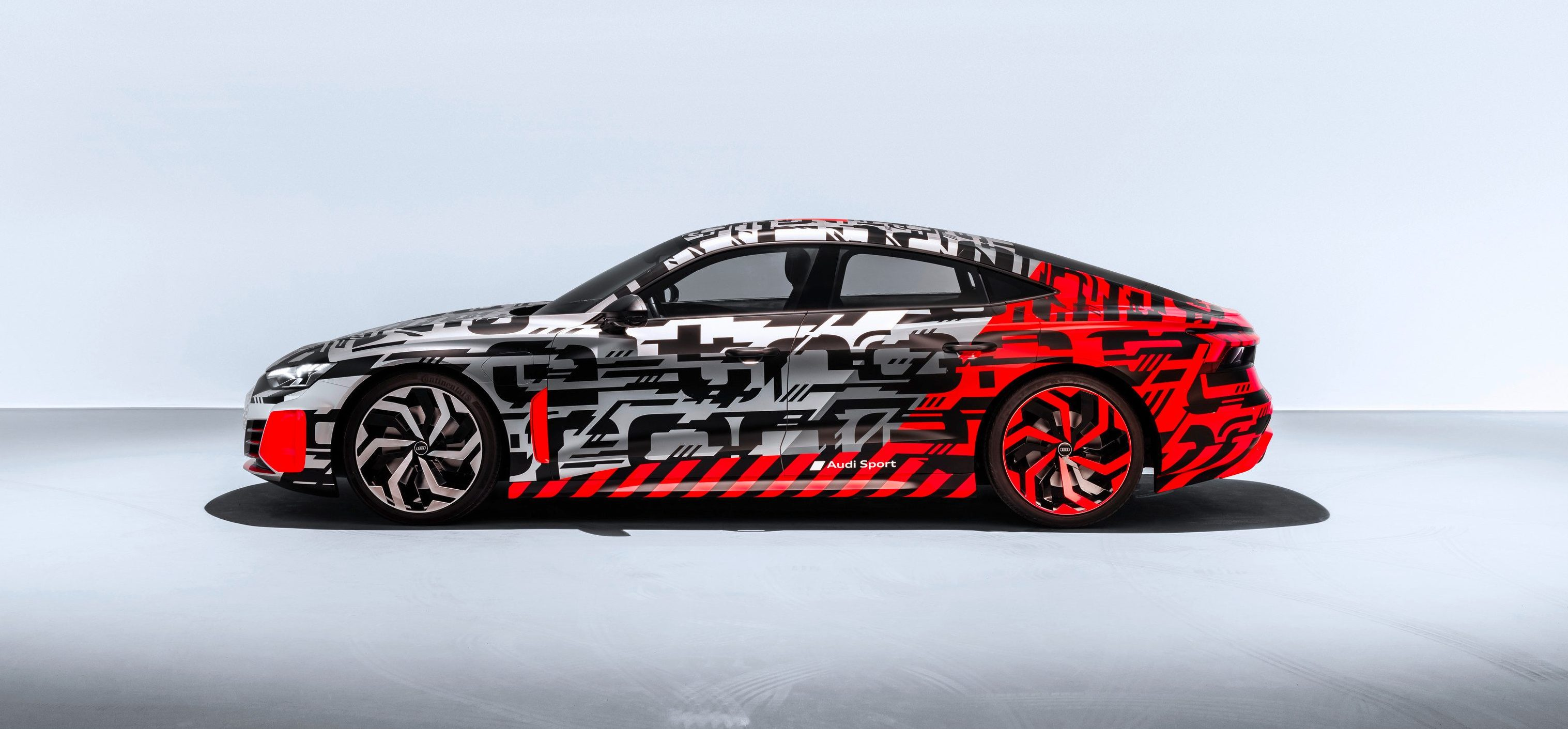 Audi Unveils E Tron Gt All Electric Performance Car In Camo Ahead