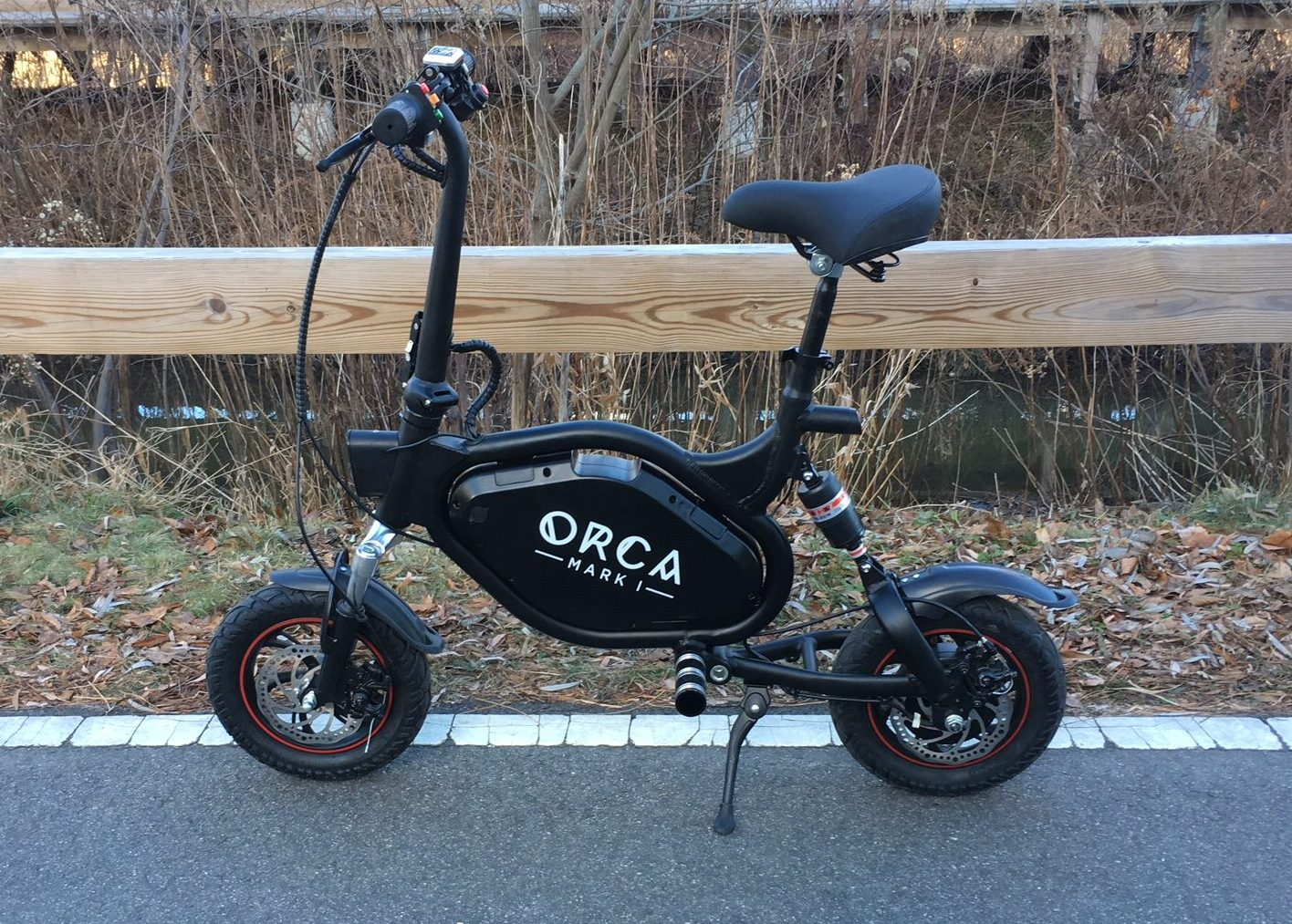 Review: Orca Mark I is a powerful little folding crotch rocket