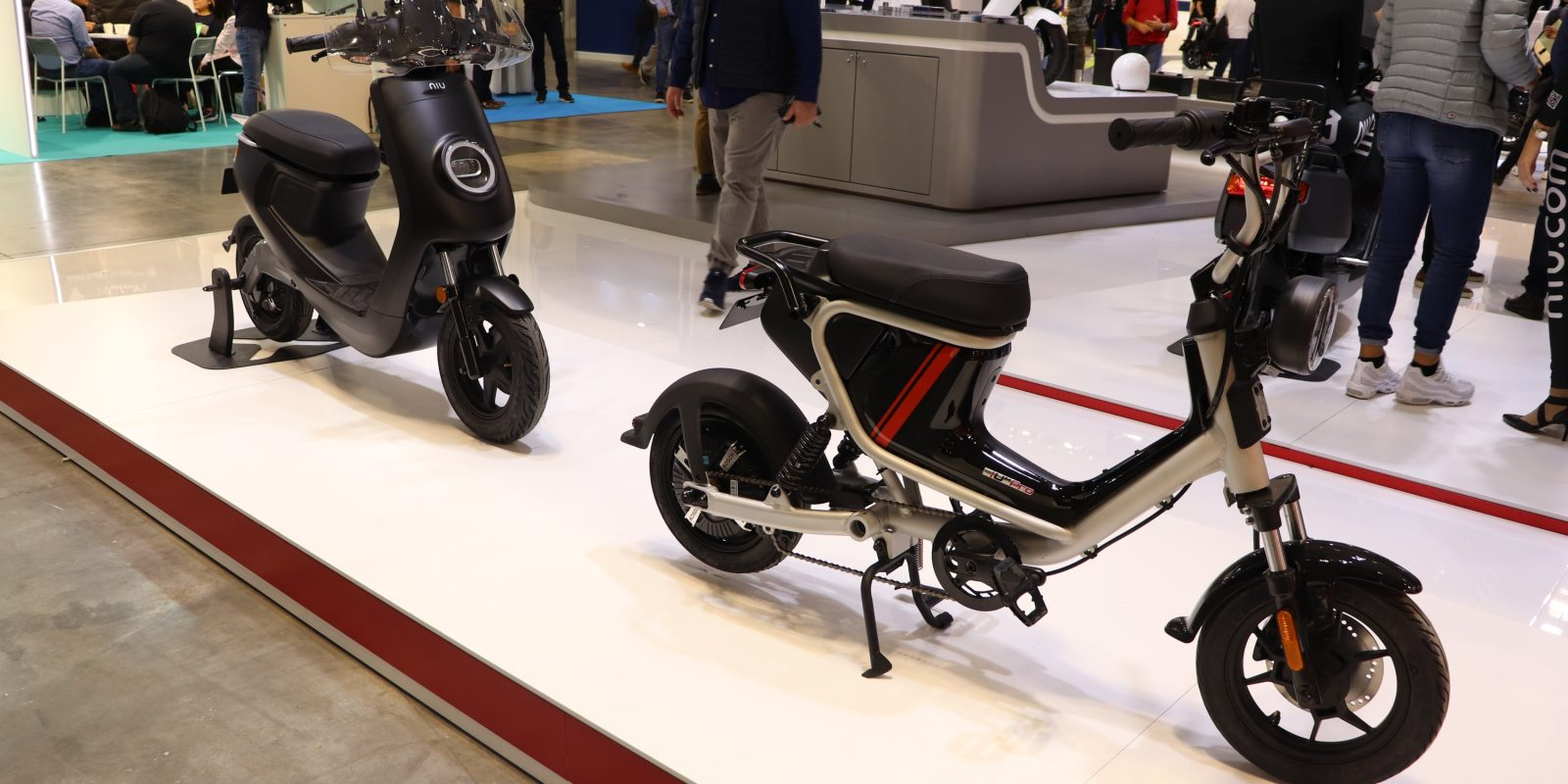 Niu Unveils New Electric Scooters Including Um Mini E Bike