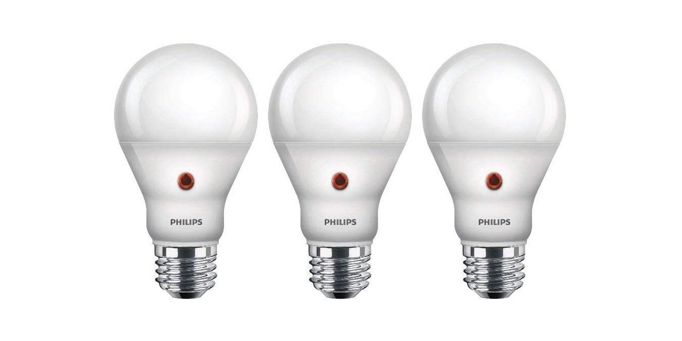 Green Deals: 3-pack Philips LED Dusk-to-Dawn Lights $15, more