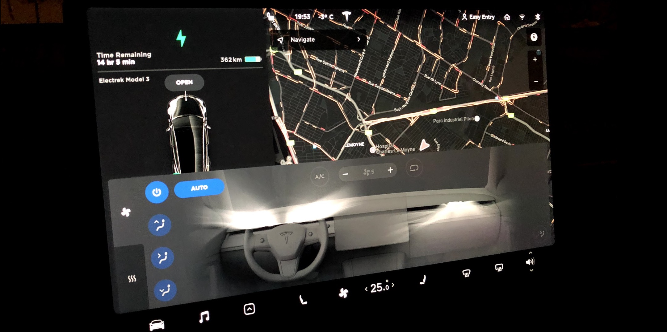 Tesla releases Model 3 software update with new climate controls, anti-theft feature, and more