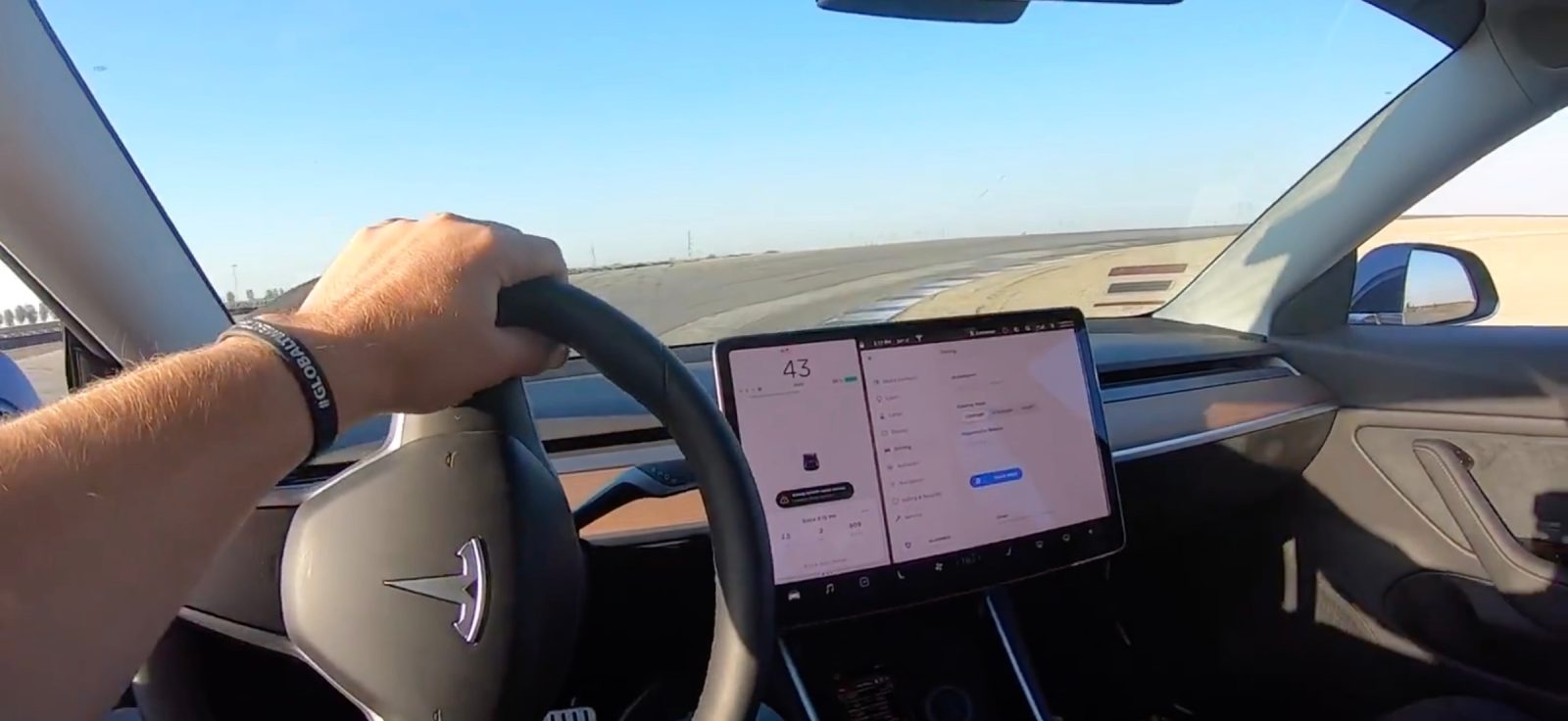 Tesla Model 3 Performance Sets Fastest Time At Global Event On Track Mode Gets Disqualified For Being Electric