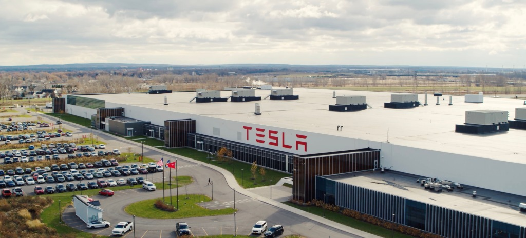 Tesla and Panasonic end solar deal at Gigafactory New York ahead of battery event - Electrek