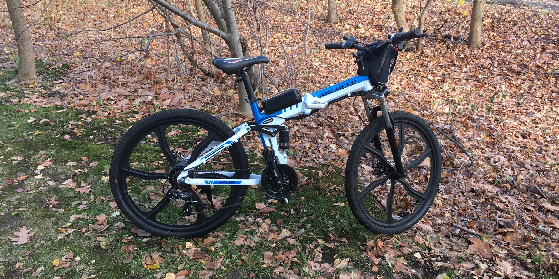 This $660 folding electric mountain bike surprised the heck out of me