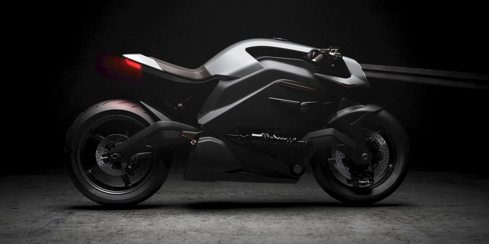 Arc Vector electric motorcycle is the most high tech $117k & 150 mph cafe racer