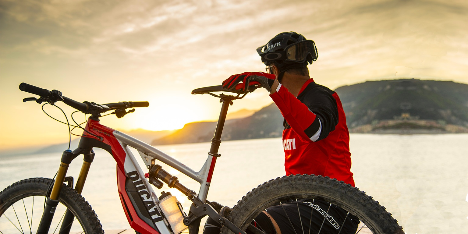 Ducati goes electric – and adds pedals – with new electric mountain bike