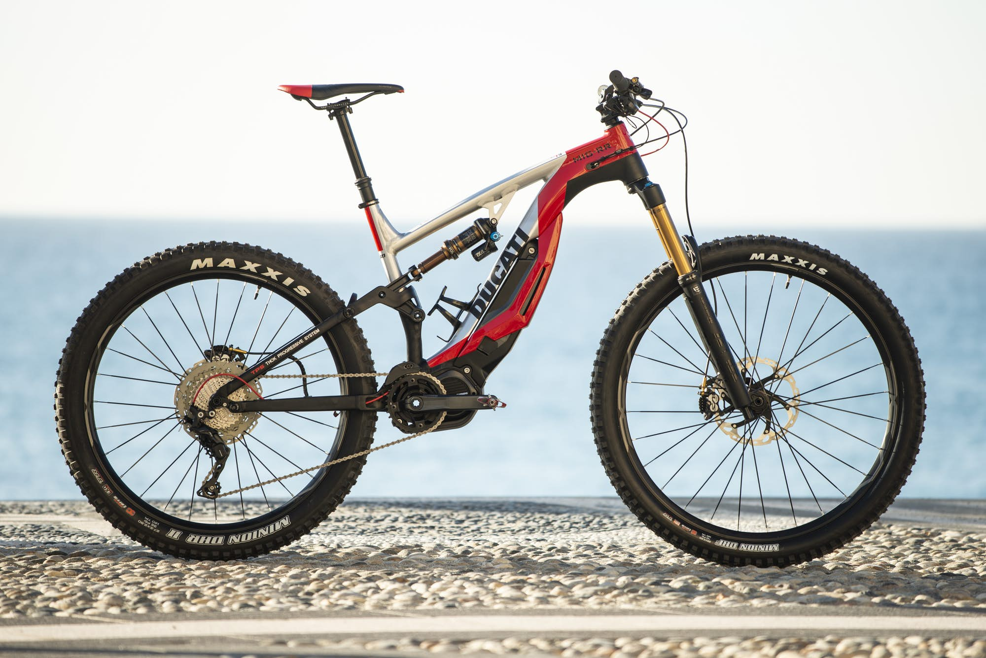 ducati mig-rr electric mountain bike