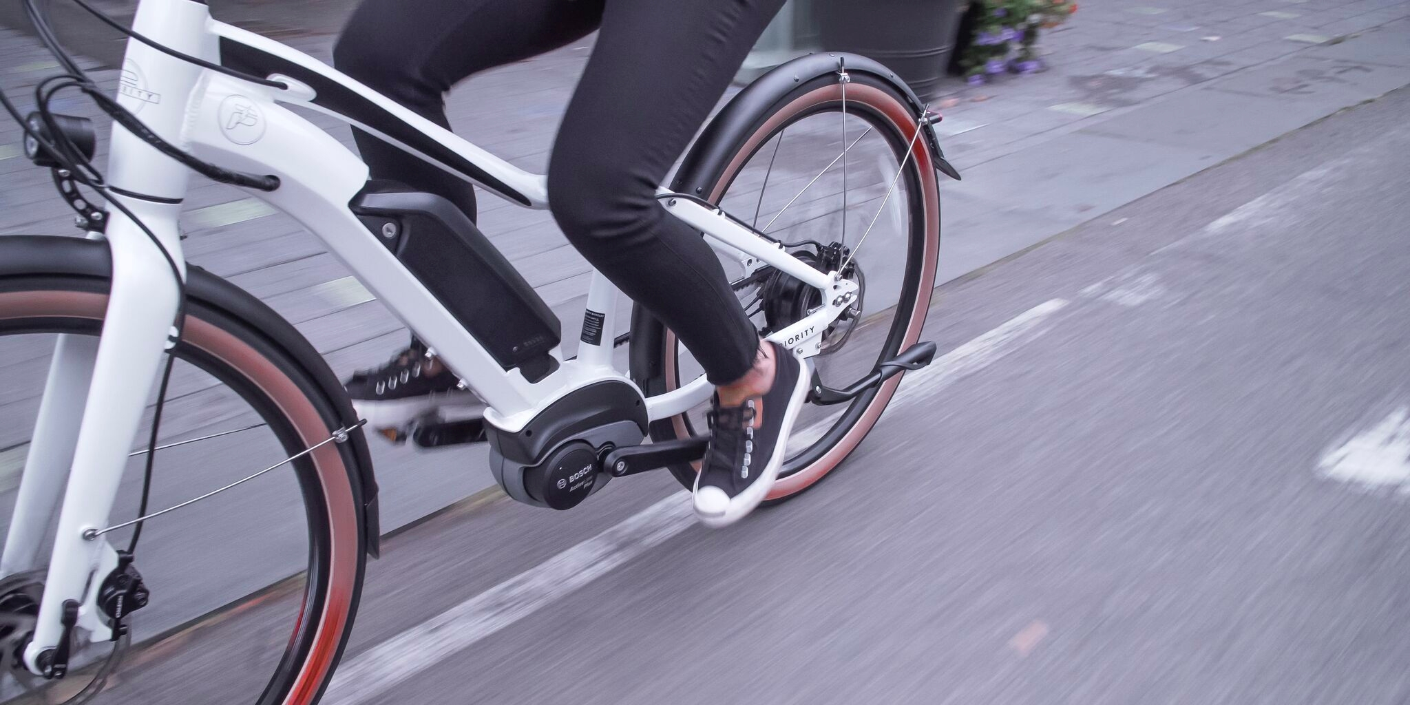 New Priority Embark electric bicycle features Bosch powered belt driven CVT