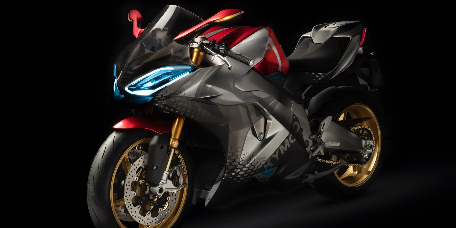 Electric Motorcycle Unveiled By Kymco